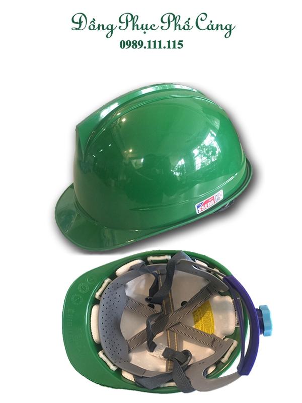 Mũ Sseda Hàn Quốc màu xanh lá cây - mặt tròn