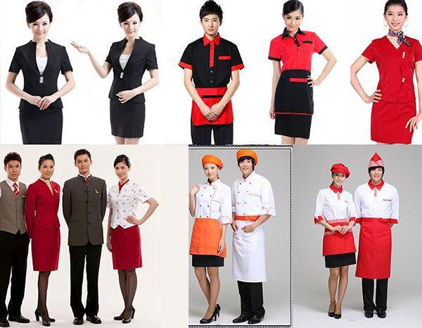 Khách hàng có thể thỏa sức lựa chọn những bộ đồng phục đẹp nhất cho nhà hàng, khách sạn của mình