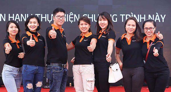Xưởng may áo phông giá rẻ Quảng Ninh đảm bảo chất lượng