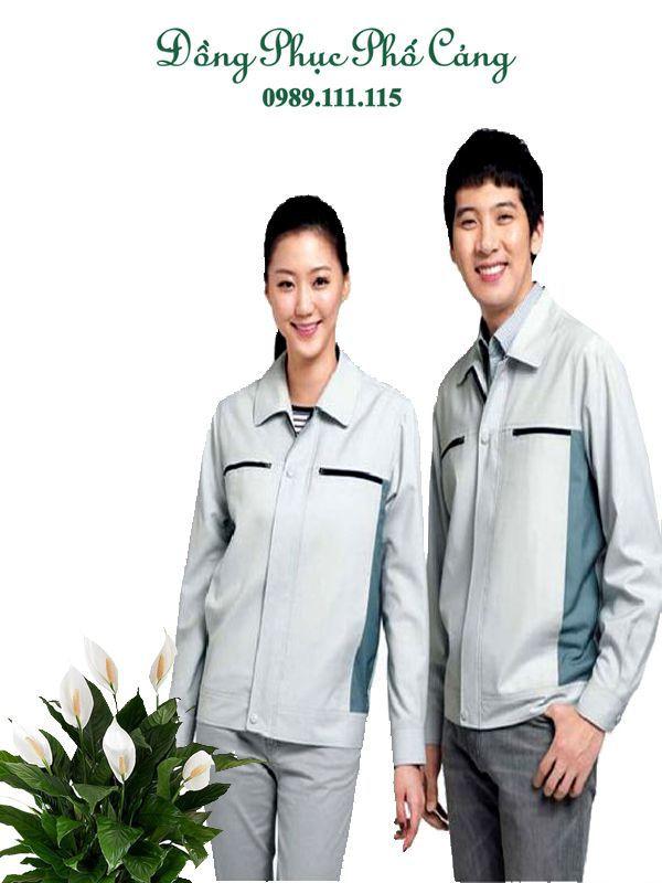 Quần áo bảo hộ công nhân phom dáng đẹp