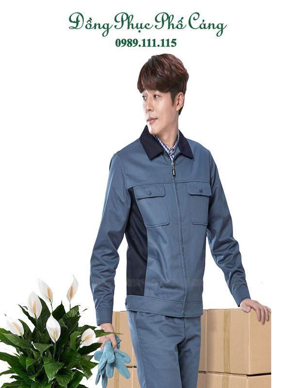 Quần áo bảo hộ công nhân bền màu
