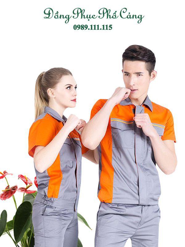 Quần áo bảo hộ công nhân ngành cơ khí