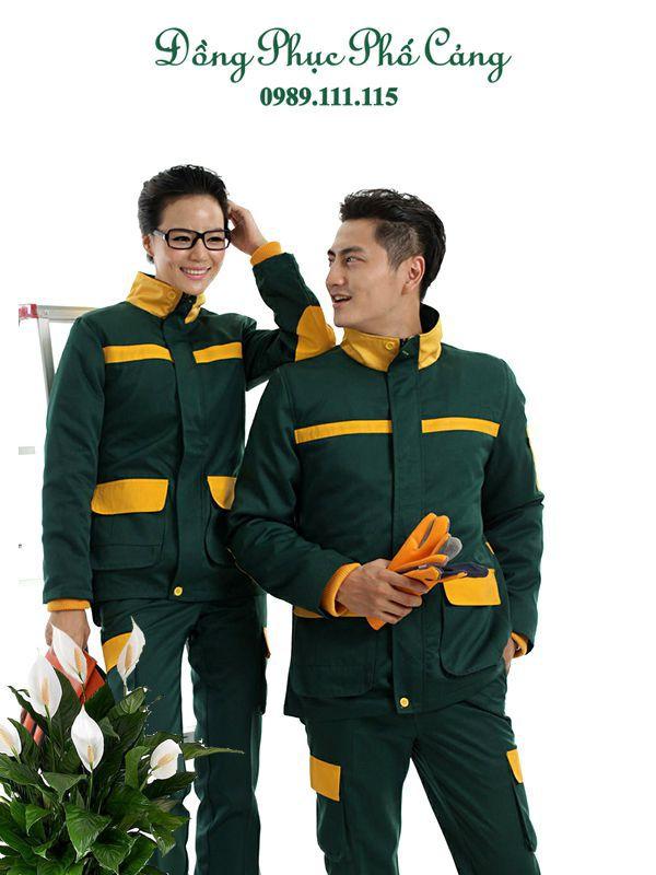 Quần áo bảo hộ công nhân xây dựng