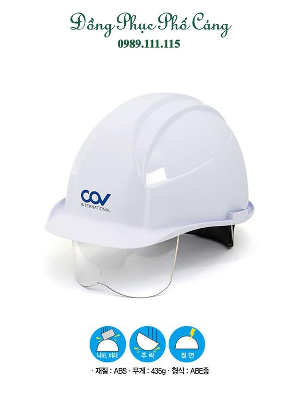 Mũ bảo hộ có kính COVD mã H0909251