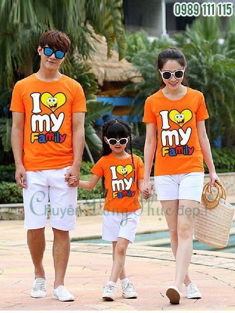 Áo phông cho gia đình