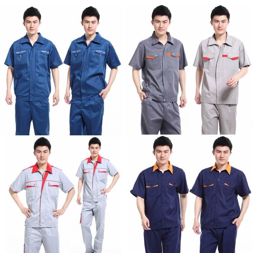 Một số mẫu đồng phục áo bảo hộ công nhân do chúng tôi thiết kế.