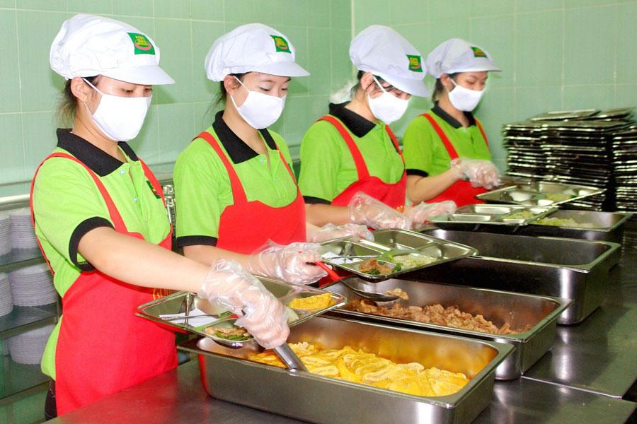 Vai trò của đồng phục công nhân thực phẩm