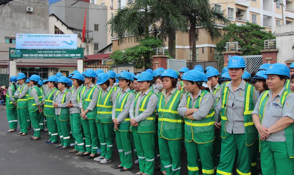 Đồng phục của công nhân môi trường