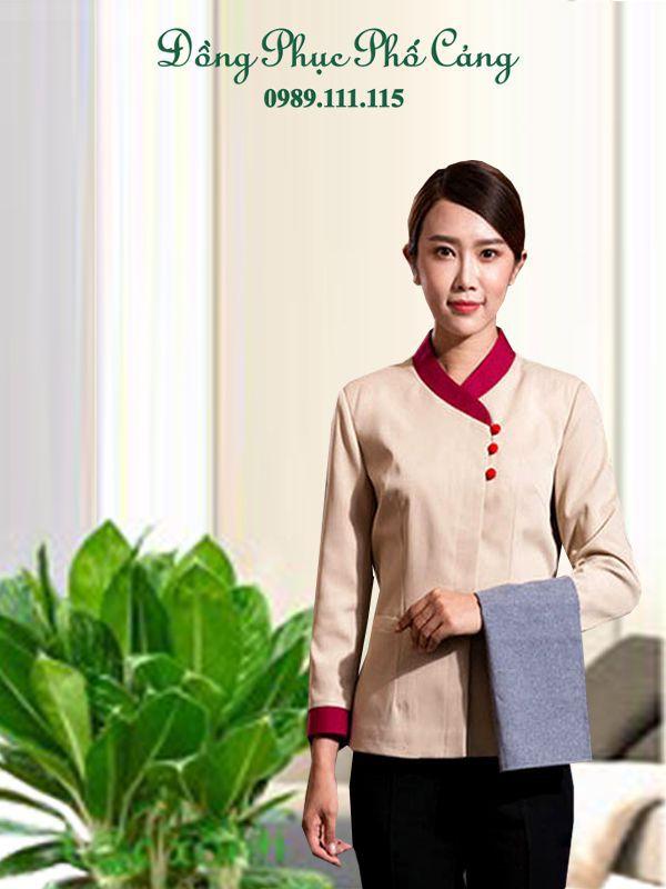 Đồng phục nhân viên thời trang được thiết kế tùy theo nhu cầu, mẫu mã đẹp