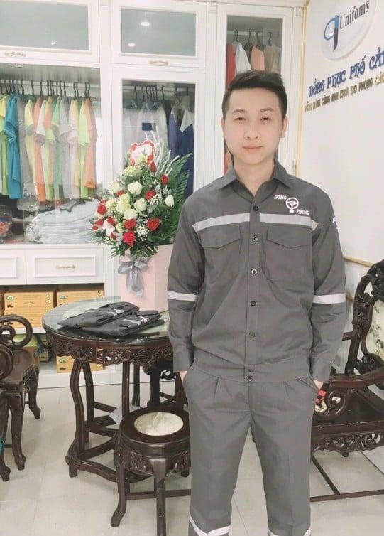 Hình ảnh đồng phục lao động công nhân Hải Phòng