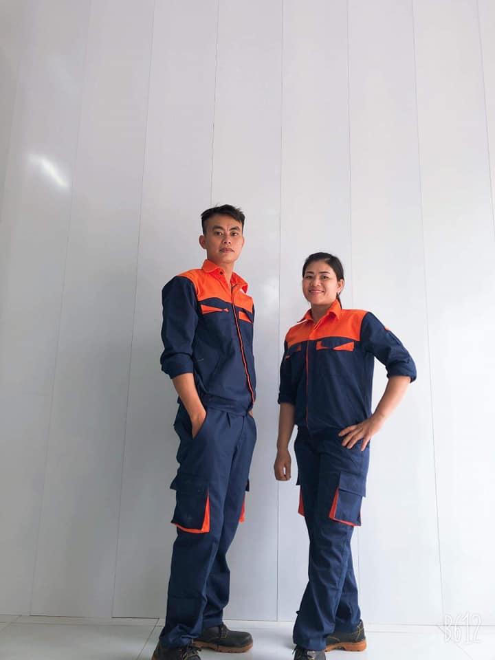 Trang bị đồng phục lao động công nhân