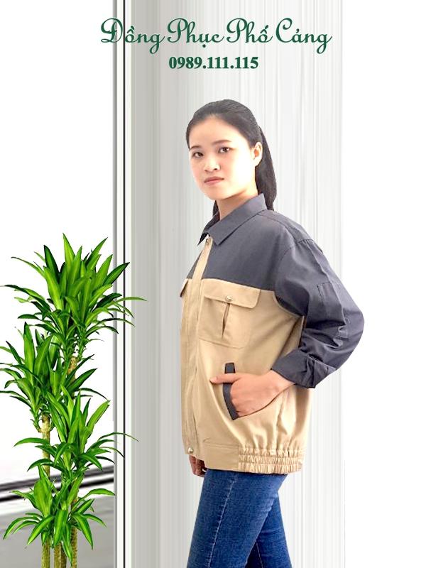 Chất liệu vải đồng phục bảo hộ lao động Hải Phòng